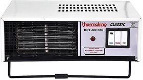 THERMOKING HEAT CONVECTOR AIR FAN WHITE  BLACK