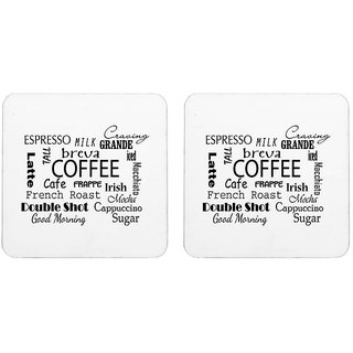 Mooch Wale Coffee Sayings  Square Wooden Coaster