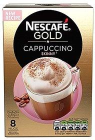 Nescafe Gold Cappuccino 14.2g x 8 Sachet, 113.6 grams