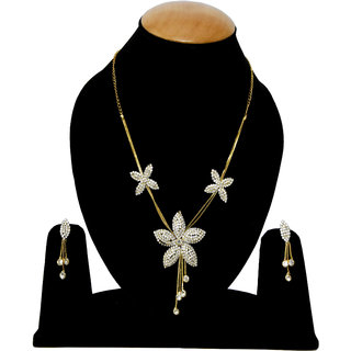 Bhagya Lakshmi White Star Pendent Necklace For Women