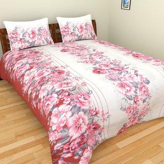 Spangle premium Cotton king Size Designer Printed GC Bed Sheet