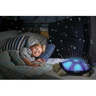 Turtle Twilight Night Light Star Projector Bedside Lamp