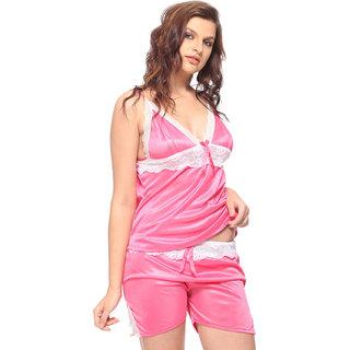 02397c260dd4 Buy Vixenwrap Cute Pink Solid Top Shorts Set Online - Get 44% Off