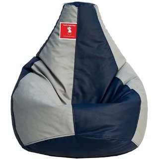 Comfy Bean Bag INDIGO GREY L SIZE Without Fillers - Cover Only