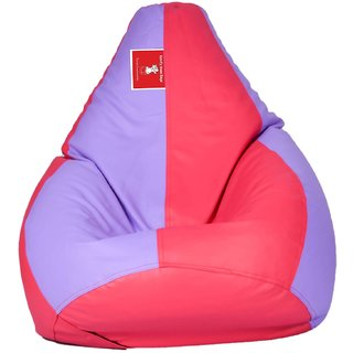 Comfy Bean Bag LAVENDER PINK L SIZE Without Fillers - Cover Only