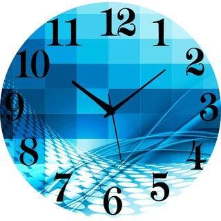 Vidhi Creation Circular Analog Wall Clock RND-SHW0120 - Pack of 1