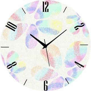 Vidhi Creation Circular Analog Wall Clock RND-SHW0084 - Pack of 1