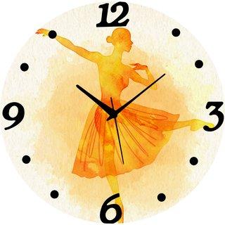 Vidhi Creation Circular Analog Wall Clock RND-SHW0054 - Pack of 1