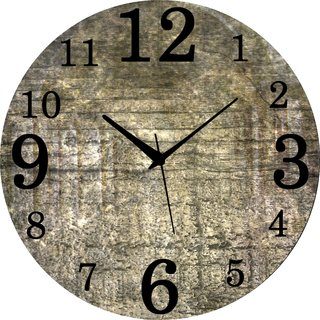 Vidhi Creation Circular Analog Wall Clock RND-SHW0412 - Pack of 1