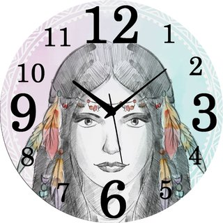 Vidhi Creation Circular Analog Wall Clock RND-SHW0231 - Pack of 1