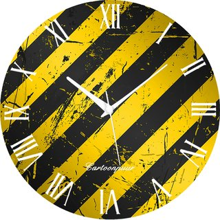 Vidhi Creation Circular Analog Wall Clock RND-SHW0237 - Pack of 1