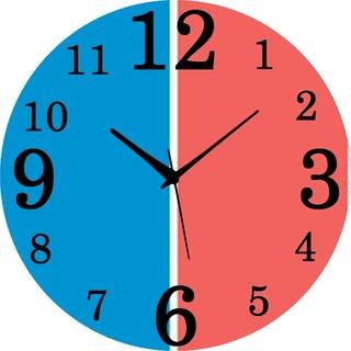 Vidhi Creation Circular Analog Wall Clock RND-SHW0458 - Pack of 1