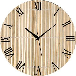 Vidhi Creation Circular Analog Wall Clock RND-SHW0417 - Pack of 1