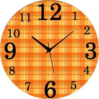 Vidhi Creation Circular Analog Wall Clock RND-SHW0330 - Pack of 1