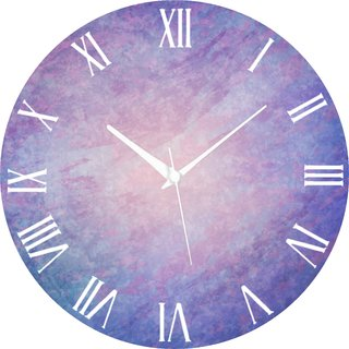 Vidhi Creation Circular Analog Wall Clock RND-SHW0240 - Pack of 1
