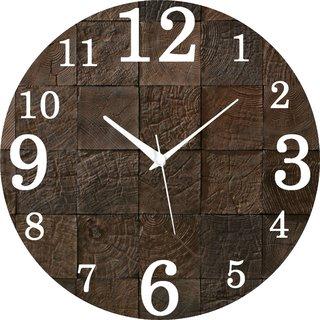 Vidhi Creation Circular Analog Wall Clock RND-SHW0534 - Pack of 1