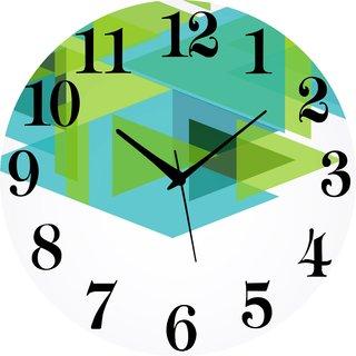 Vidhi Creation Circular Analog Wall Clock RND-SHW0110 - Pack of 1