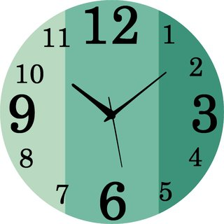 Vidhi Creation Circular Analog Wall Clock RND-SHW0459 - Pack of 1