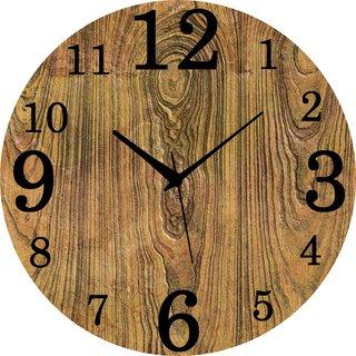 Vidhi Creation Circular Analog Wall Clock RND-SHW0418 - Pack of 1