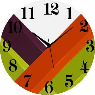 Vidhi Creation Circular Analog Wall Clock RND-SHW0149 - Pack of 1