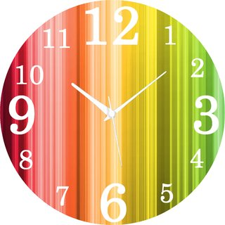 Vidhi Creation Circular Analog Wall Clock RND-SHW0247 - Pack of 1