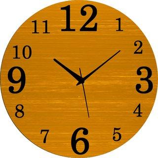 Vidhi Creation Circular Analog Wall Clock RND-SHW0468 - Pack of 1