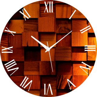 Vidhi Creation Circular Analog Wall Clock RND-SHW0535 - Pack of 1