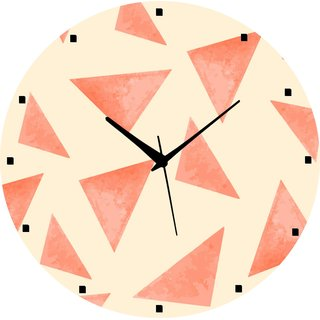 Vidhi Creation Circular Analog Wall Clock RND-SHW0335 - Pack of 1