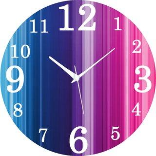 Vidhi Creation Circular Analog Wall Clock RND-SHW0248 - Pack of 1