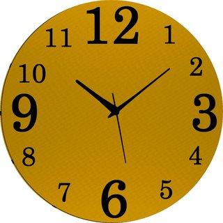 Vidhi Creation Circular Analog Wall Clock RND-SHW0469 - Pack of 1