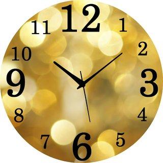 Vidhi Creation Circular Analog Wall Clock RND-SHW0420 - Pack of 1