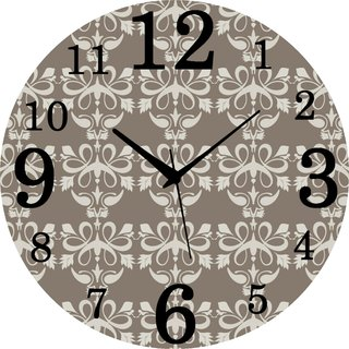 Vidhi Creation Circular Analog Wall Clock RND-SHW0382 - Pack of 1