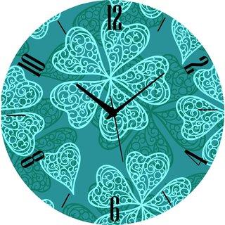 Vidhi Creation Circular Analog Wall Clock RND-SHW0153 - Pack of 1