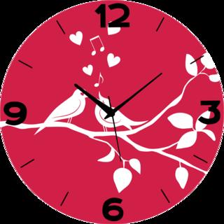 Vidhi Creation Circular Analog Wall Clock RND-SHW0585 - Pack of 1