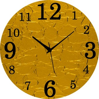 Vidhi Creation Circular Analog Wall Clock RND-SHW0470 - Pack of 1