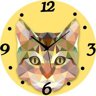 Vidhi Creation Circular Analog Wall Clock RND-SHW0113 - Pack of 1