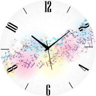 Vidhi Creation Circular Analog Wall Clock RND-SHW0194 - Pack of 1