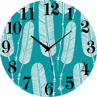 Vidhi Creation Circular Analog Wall Clock RND-SHW0195 - Pack of 1