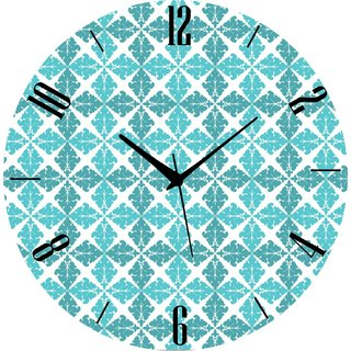 Vidhi Creation Circular Analog Wall Clock RND-SHW0156 - Pack of 1