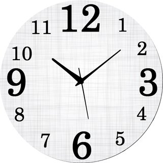 Vidhi Creation Circular Analog Wall Clock RND-SHW0385 - Pack of 1