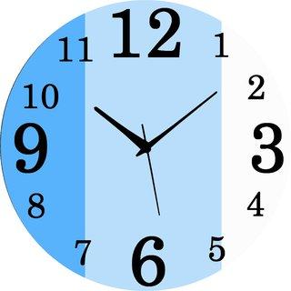 Vidhi Creation Circular Analog Wall Clock RND-SHW0423 - Pack of 1