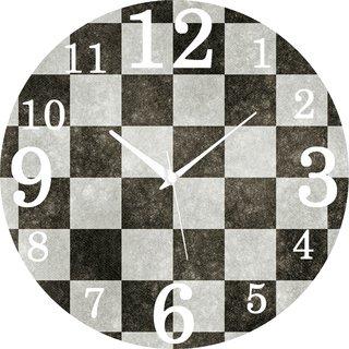 Vidhi Creation Circular Analog Wall Clock RND-SHW0256 - Pack of 1