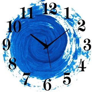 Vidhi Creation Circular Analog Wall Clock RND-SHW0157 - Pack of 1