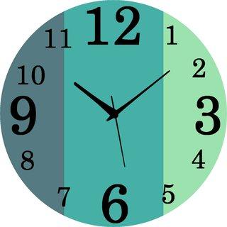 Vidhi Creation Circular Analog Wall Clock RND-SHW0424 - Pack of 1