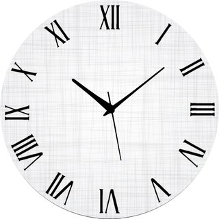 Vidhi Creation Circular Analog Wall Clock RND-SHW0386 - Pack of 1
