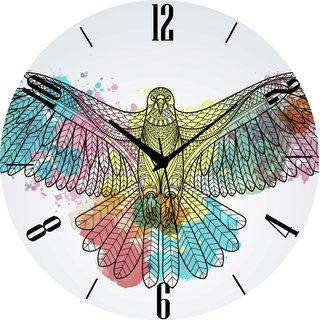 Vidhi Creation Circular Analog Wall Clock RND-SHW0197 - Pack of 1