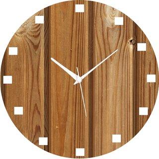 Vidhi Creation Circular Analog Wall Clock RND-SHW0340 - Pack of 1
