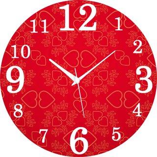 Vidhi Creation Circular Analog Wall Clock RND-SHW0263 - Pack of 1