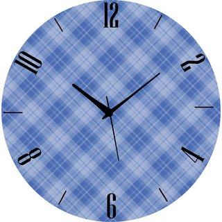 Vidhi Creation Circular Analog Wall Clock RND-SHW0158 - Pack of 1