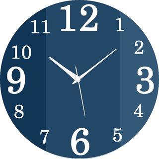 Vidhi Creation Circular Analog Wall Clock RND-SHW0425 - Pack of 1